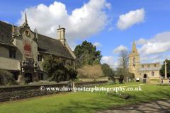 St Marys church, Weekley village, Northamptonshire, England, UK