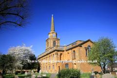 Holy Cross church Daventry Northamptonshire England Britain UK