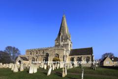 All Saints and St James Parish Church, Kings Cliffe village, Northamptonshire County, England; Britain; UK