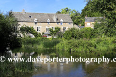 Summer, August, September, river Nene valley, Wadenhoe village Mill, Northamptonshire; England; Uk