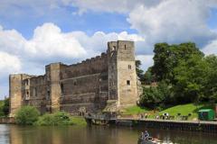 Summer, the ruins of Newark Castle, Newark on Trent