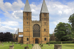 Spring, Southwell Minster, Southwell market town