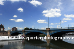 Boats on the river Trent, Trent Bridge