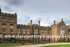 Summer view of Newstead Abbey