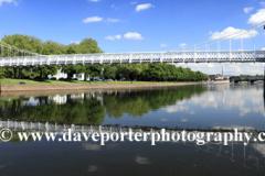 Bridge over the river Trent, Nottingham city centre