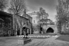Robin Hood Statue outside Nottingham Castle