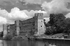 The ruins of Newark Castle, Newark on Trent