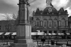 The war memorial, market town of Retford