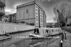 Narrowboats on the river Trent, Nottingham