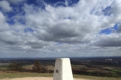 summit of Wrekin Hill ancient hill fort