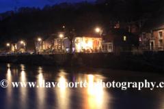 river Severn and Ironbridge town, Coalbrookdale
