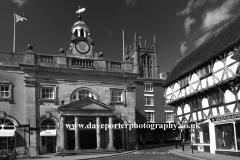 The Buttercross building, Town centre, Ludlow