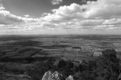 Shropshire plains from the Wrekin Hill hill fort