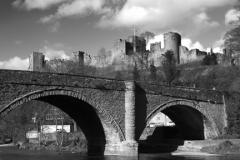 River Teme, Dinham Bridge and Ludlow Castle