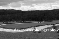 Ox Bow Meander, River Severn, Buildwas village