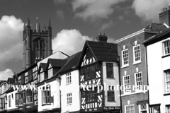 Town centre view, Ludlow town