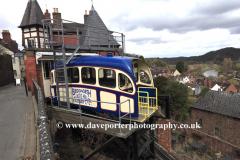 Castle Hill Inland Cliff Railway, Bridgnorth town