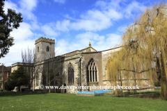 Holy Trinity parish church, Much Wenlock town