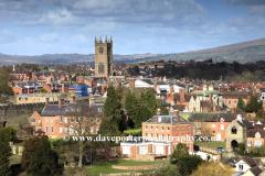 St Laurences parish church, Ludlow town