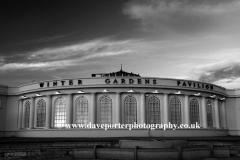 The Winter Gardens building, Weston Super Mare, Bristol Channel, Somerset County, England, UK