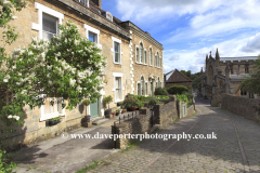 Summer, June, July, View of Frome town, Somerset County, England, UK