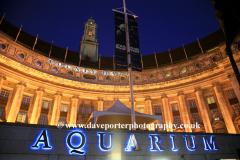London Aquarium, South Bank, River Thames, London City, England, UK