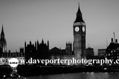 The Houses of Parliment, North Bank, riverThames, London England UK