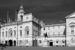 Summer, Horse Guards parade and the Old Admirality Buildings; Whitehall; London England UK