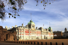 Summer, Horse Guards parade and the Old Admiralty Buildings; Whitehall; London England UK