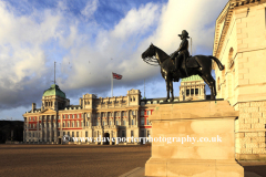 Horse Guards and the Old Admirality Buildings; Westminster; London England UK