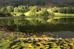 Spring, Reflections in Loughrigg Tarn