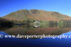 Reflection of Hallin fell in Ullswater