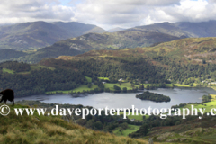 Grasmere Water and the Langdale Fells