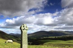 The Hawell shepherds memorial, Skiddaw Fell