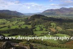 View through Newlands valley