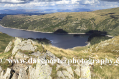 Summer view over Haweswater