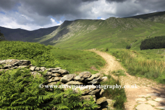 The Riggindale valley to Kidsty Pike Fell