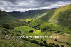 View through the Martindale valley