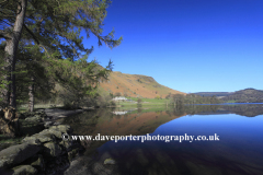 Howtown bay and Hallin fell, Ullswater