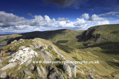 The Riggindale valley near Haweswater Reservoir