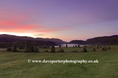 Misty Dawn Landscape, Castlerigg Stone Circle