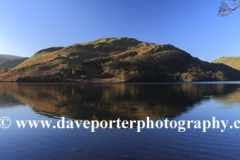 Reflections of Hallin Fell in Ullswater