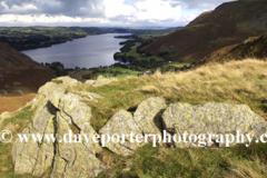 Summit of Steel Knotts fell overlooking Ullswater
