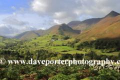 Autumn, Newlands valley and the Derwent Fells