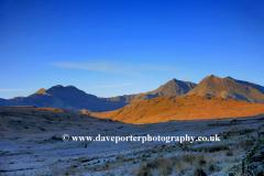 Winter Dawn Mount Snowdon Horseshoe