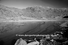 Crib Goch reflected in Llyn Llydaw, Snowdonia