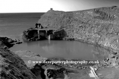 The Blue Lagoon, Aberiddy village, Pembrokeshire