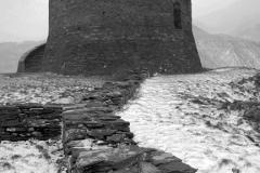 Dolbadarn Ruined Castle, Llanberis town