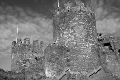 The Walls Surrounding Conwy Castle, Conwy