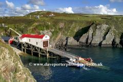 Lifeboat Station, St Justinians Bay, Pembrokeshire